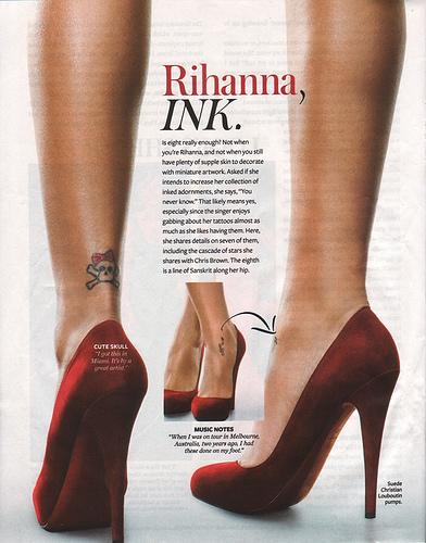 Rihanna: elle est couverte de tatouages! « Découvrez le site sur ...